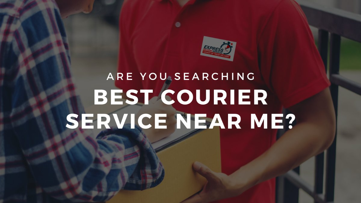 Read more about the article Best courier service near me?